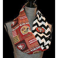 49ers Reversible Scarf