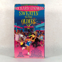 Vintage VHS Richard Simmons Sweatin' To The Oldies 2, 1993