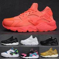 2017 air Huarache 1 Ultra shoes Men Running Shoes Triple Black White red Breathable womens Huraches high quality Sneakers eur 36-45