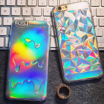 New Laser TPUiPhone 7 7Plus & iPhone 6s 6 Plus Cases + Gift Box