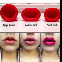 Sexy Full lip Plump Plumper Red Lips Suction Enhancer Device Round Increase lips Makeup Beauty Tools For Women