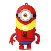 "Minions ""Spider Man"" 4400 mAh External Battery Pack with Micro USB Cable"