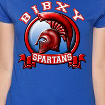 Bixby Spartans Banner T-Shirt