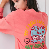 OBEY So Faded Long Sleeve Tee | Urban Outfitters