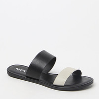 Mia Two-Tone Slide Sandals at PacSun.com