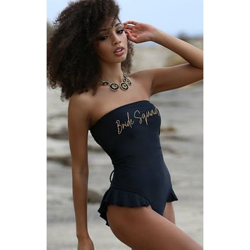 Bride Squad Swimsuit - Hermosa One Piece