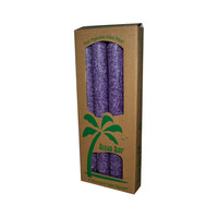 Aloha Bay Unscented Palm Tapers Violet - 4 Candles