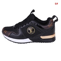 Louis Vuitton LV New Fashion Mesh Women Men Sports Leisure Running Shoes 6#