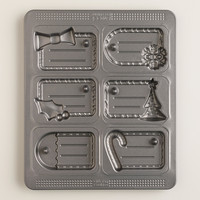 Nonstick Gift Tag Cookie Pan - World Market
