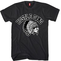 Hustle Gang Unisex T-shirt Funny and Music