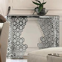 Modern Style Corner Console Table