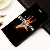System of A Down custom Wallet for iPhone 4, 4S, 5, 5S, 5C, 6, 6 Plus, 7, Samsung Galaxy S3, S4, S5, S6, S7 Case