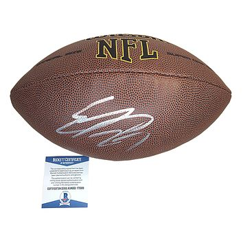 Eddie Lacy Autographed NFL Football, Green Bay Packers, Beckett BAS Y76989