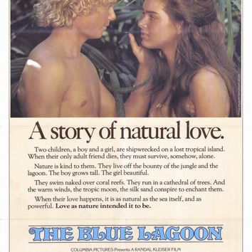 Blue Lagoon 27x40 Movie Poster (1980)