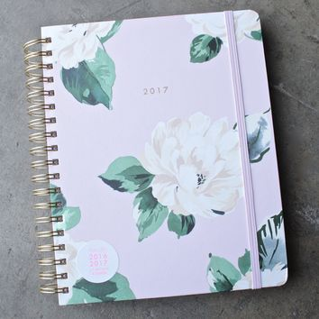 ban.do 17  months large agenda - lady of leisure floral planner
