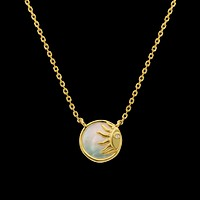 Mother of Pearl Sunshine Pendant