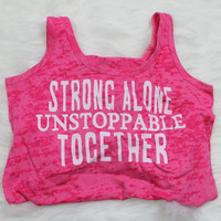 Sale! Strong alone unstoppable together