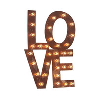 Remember Love Marquee