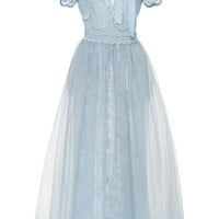 Long Tulle Dress | Moda Operandi