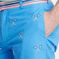 Embroidered Lacrosse Club Shorts