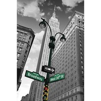 GB Eye New York Street Signs Poster