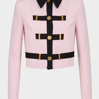 Versace Medusa Button Cropped Jacket for Women | US Online Store