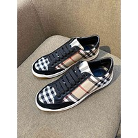 Burberry2021 Men Fashion Boots fashionable Casual leather Breathable Sneakers Running Shoes06300cx