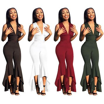 THE HIGH & LOW OF IT JUMPSUIT