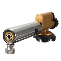 New Arrival Butane Gas Copper Gun Maker Torch Ignition Torch Lighter Adjustable Fire Power For Camping Cooking H1E1
