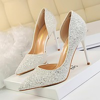 Bling High Heel Pumps
