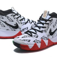 Nike Kyrie Irving 4 IV Wht/Blk/Red/Green
