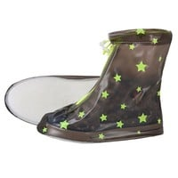 Children Star non-slip Cover rain boot
