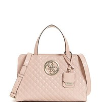 Gioia Small Girlfriend Satchel at Guess