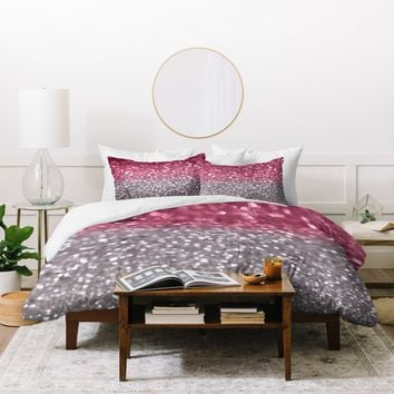 Lisa Argyropoulos Rose And Gray Duvet Cover
