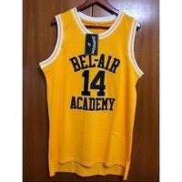 Fresh Prince of Bel-Air Will Smith 14 Bel-Air Academy Basketball Jersey cheap