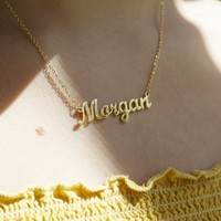 Custom Cursive Necklace