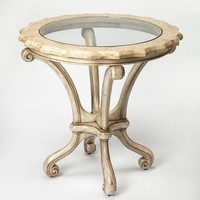 Butler Clarendon Fossil Stone Foyer Table