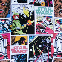 Star Wars Comic Tiles Cushion