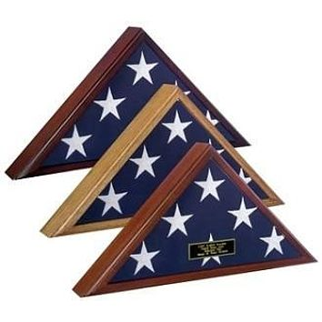 Flag Display Case 5x8 flag, Capitol Hill Flag Case Wall Mountable With Hardware Included