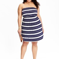 Old Navy Womens Plus Jersey Tube Dresses
