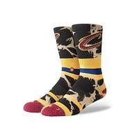 Stance Cavs Acid Wash Socks