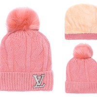 LV Hat Beanie Winter Warm Cap Unisex Daily Wear