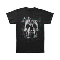Deftones Men's  Roses T-shirt Black Rockabilia