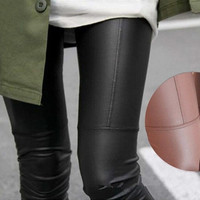 Capris Leggings Stretch Leggings Jeggings Treggins Leatherette new = 1652212612