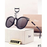 DIOR Men's and Women's Personality Size Polarized Sunglasses F-XBC #5