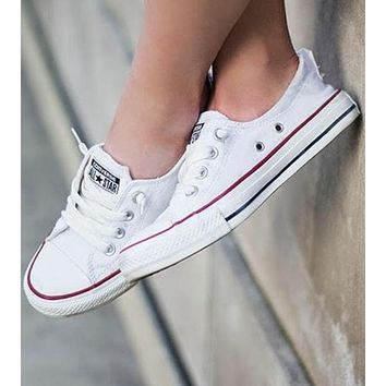 Converse All Star Adult Sneakers Leisure Low-Top Leisure shoes White