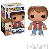 Funko Pop! Movies: Back to The Future - Marty Mcfly - Vinyl Figure