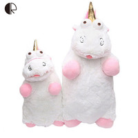 Kids Toys Despicable Me Kawaii Unicorn Plush Toy Soft Stuffed Animal Plush Toys Dolls Brinquedos Two Size 40cm 56cm HT3263