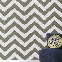 Zee Removable Wallpaper- Grey One