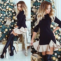 Christmas Cocktail Winter Party Dress